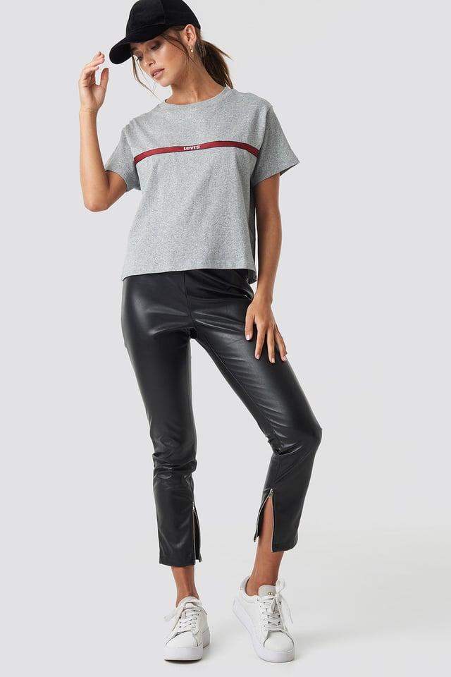 Grey Mel Basis T-Shirt