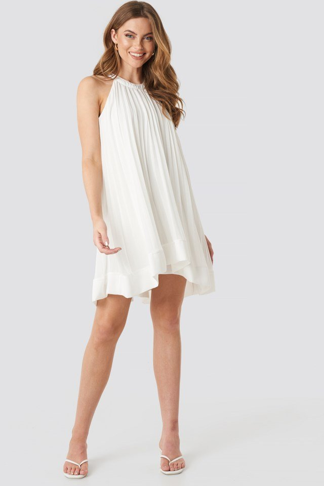 Enum Dress White Outfit