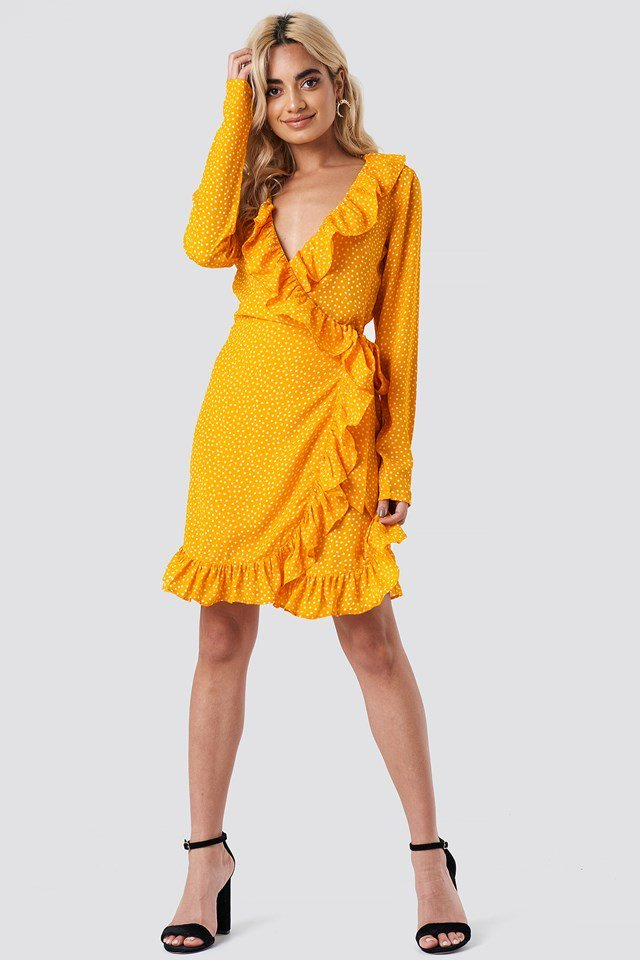 Wrapped Mini Dress