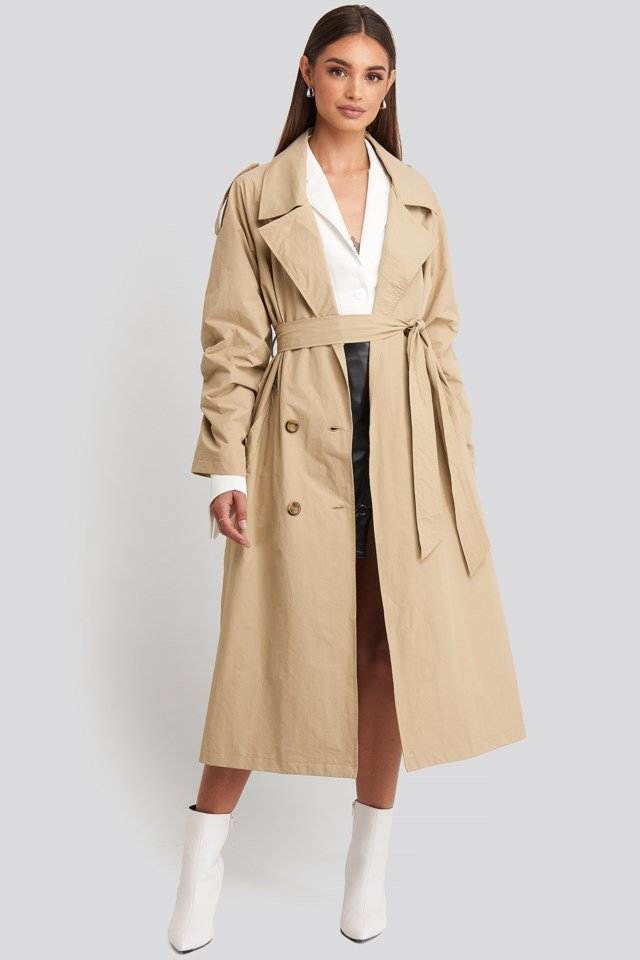 Hoss Oversize Trenchcoat Outfit.