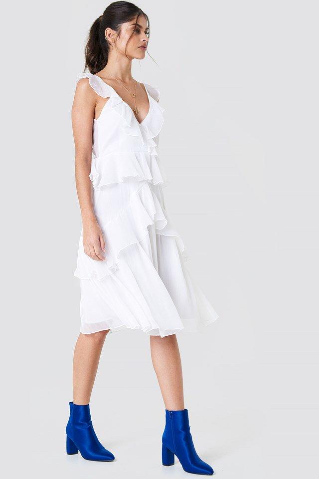 Feminen Frill Dress