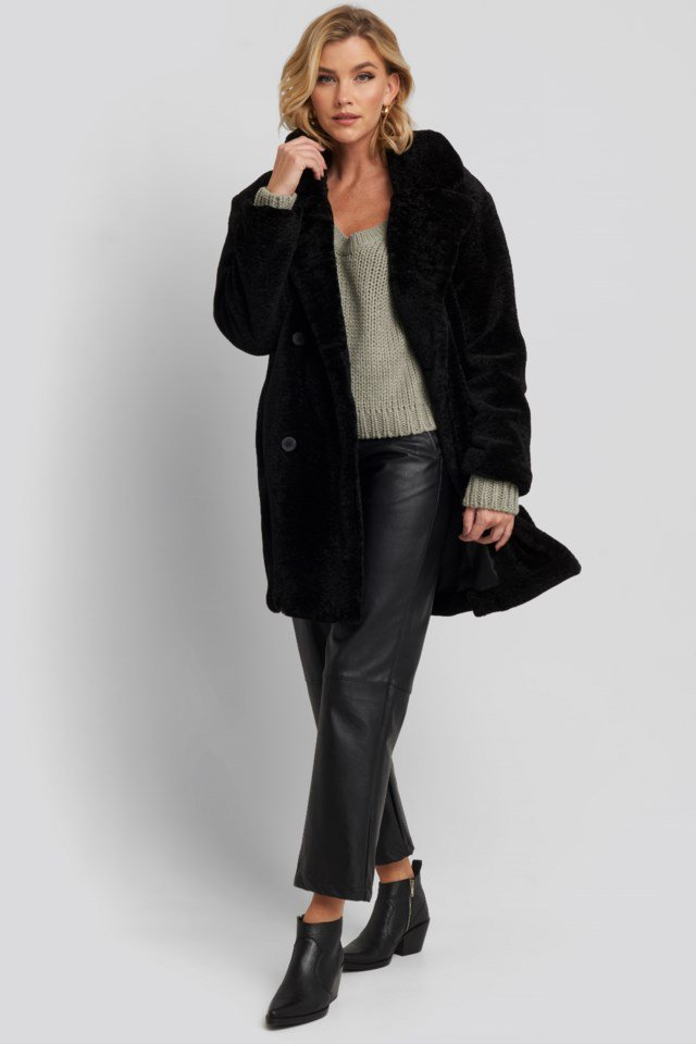 Long Teddy Coat
