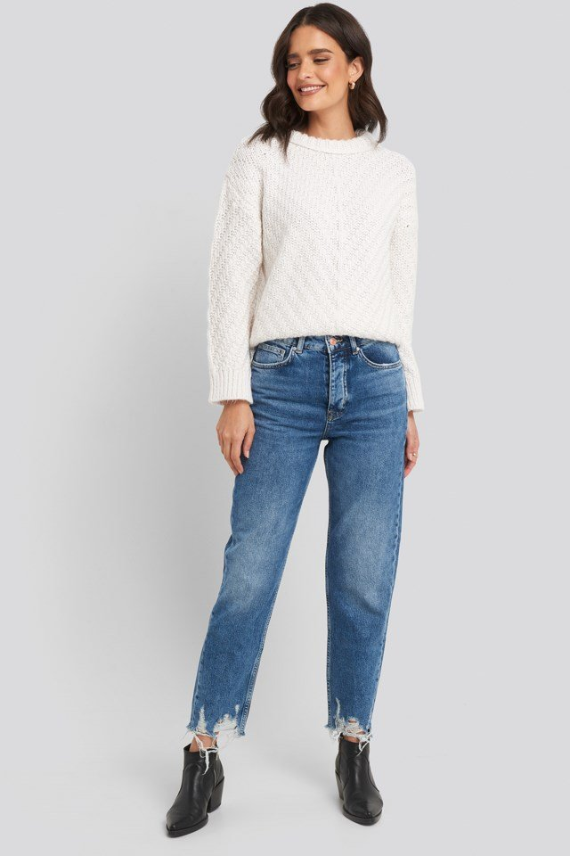 Mirror Sweater Outfit