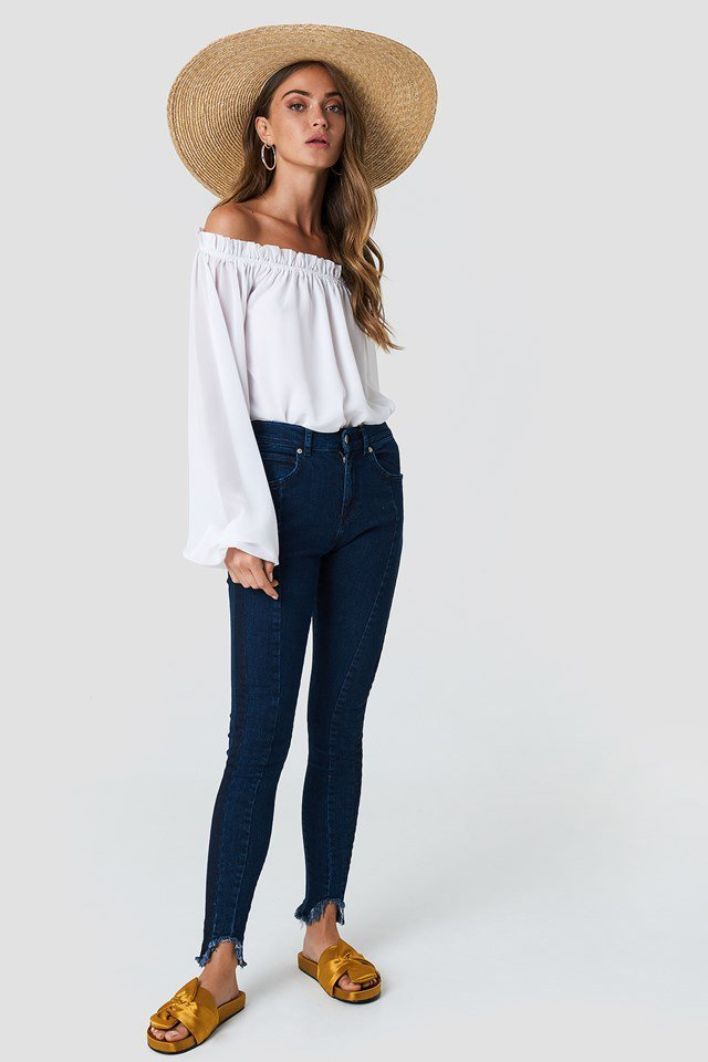 Skinny High Waisted Jeans Outfit