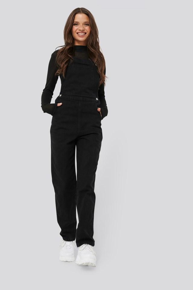 Denim Dungaree Outfit