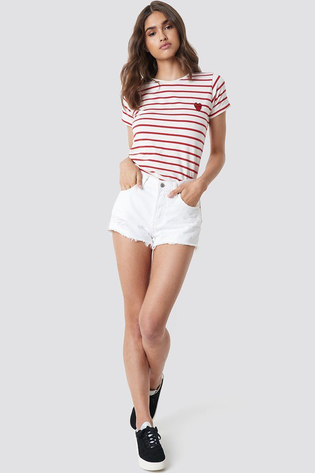 Striped Casual Outfit
