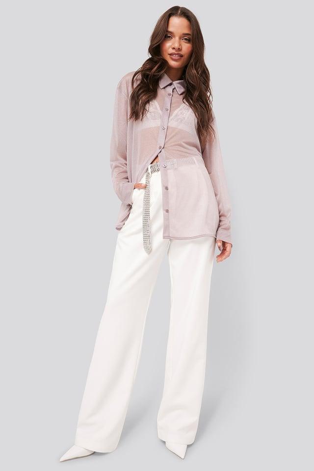 Sparkle Blouse Outfit