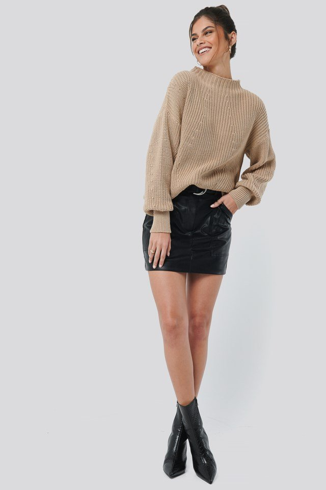 Oversized Knit Outfit