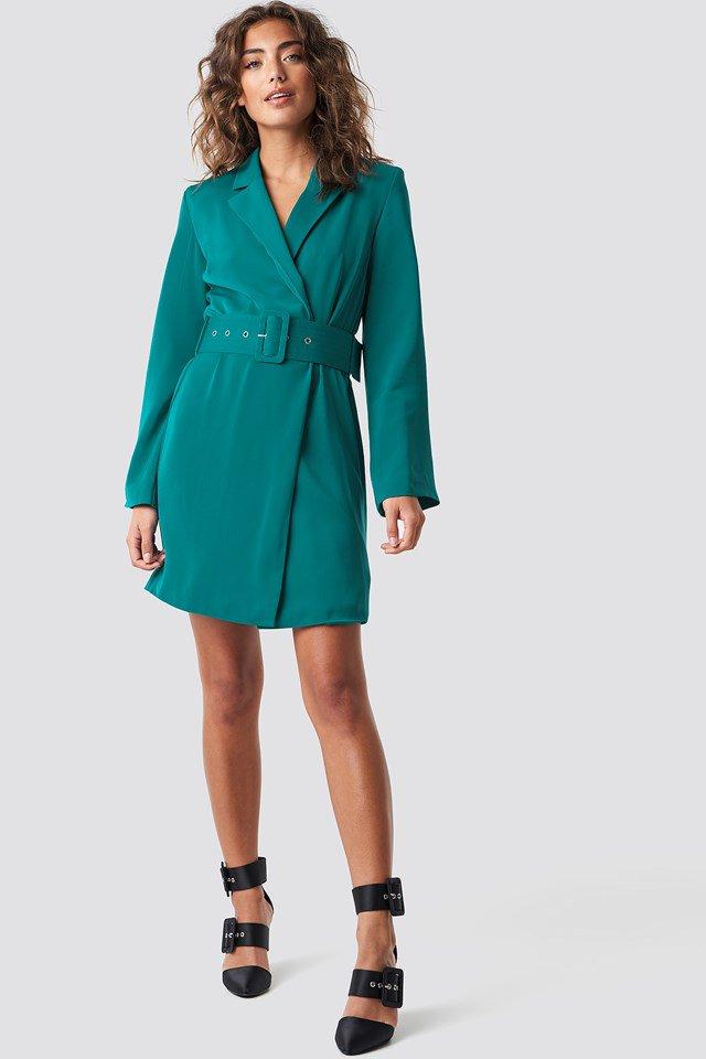 Trendy Blazer Dress