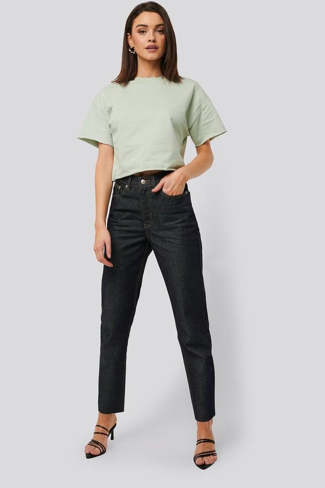 Sweatshirt Tee Outfit