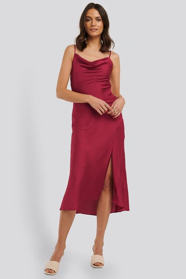 Thin Strap Midi Dress