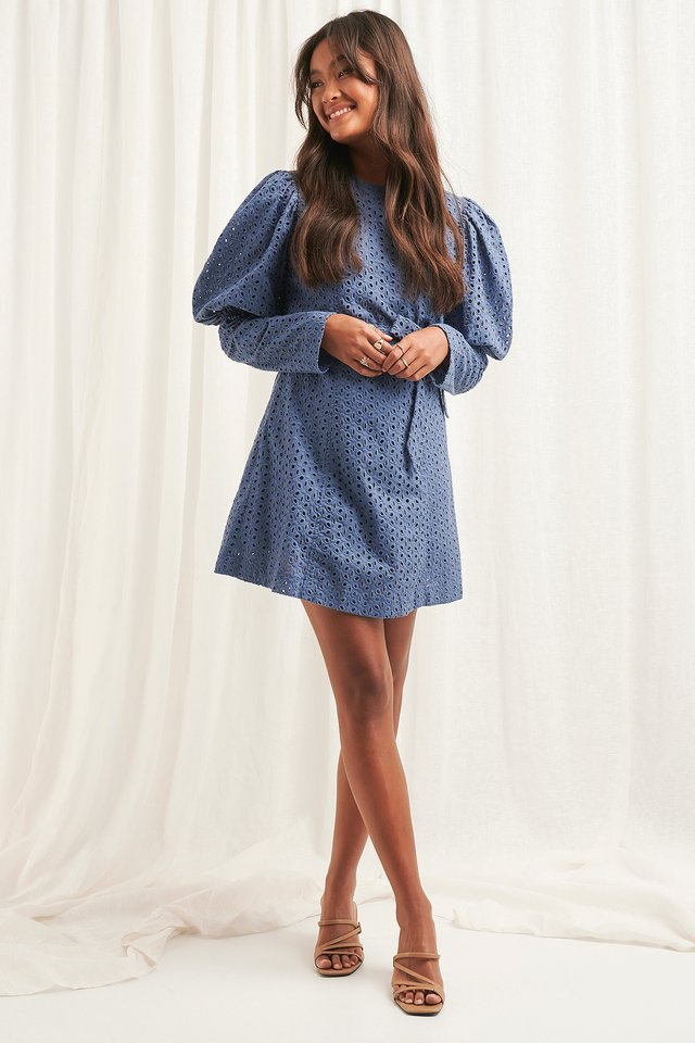 Anglaise LS Mini Dress