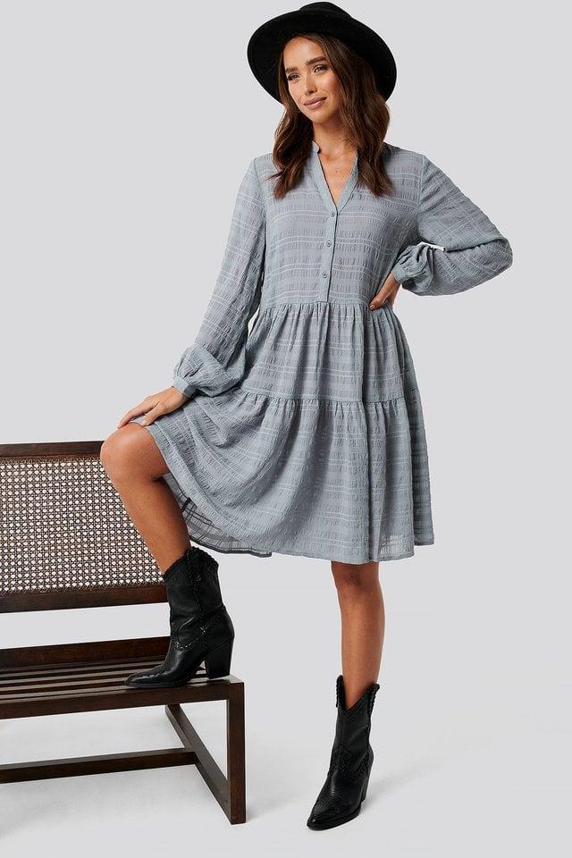 Structure A-Line Dress