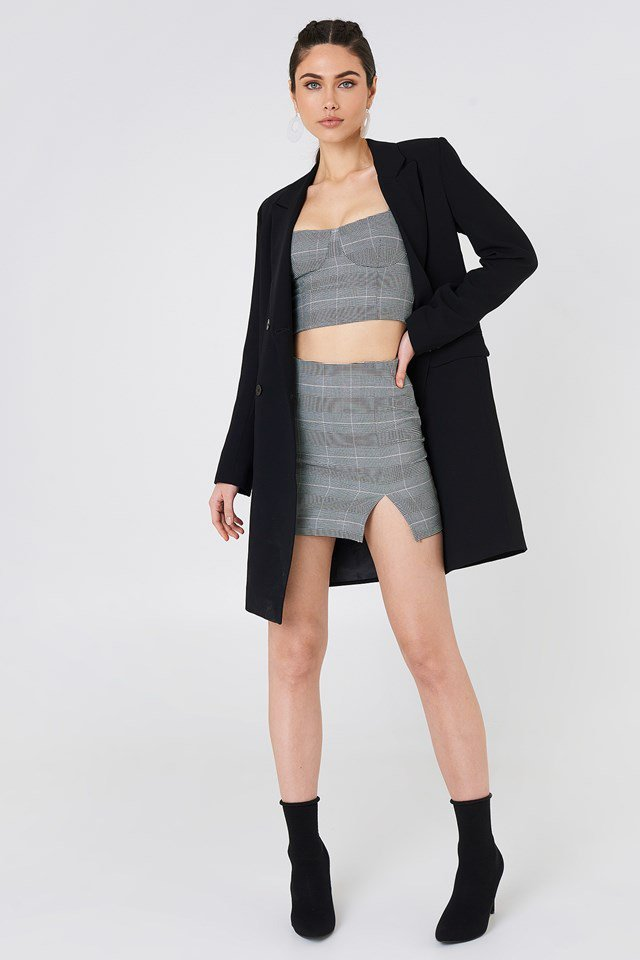 Checked Co-Ords with Tailored Blazer