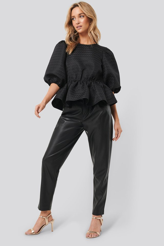 Structured Puff Blouse