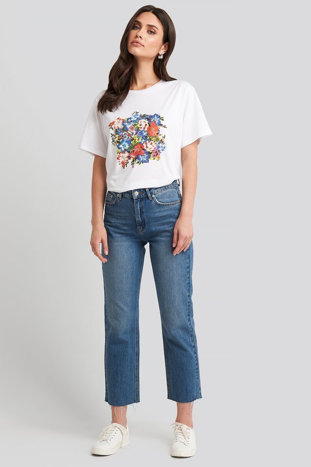 Box Floral Oversized T-shirt