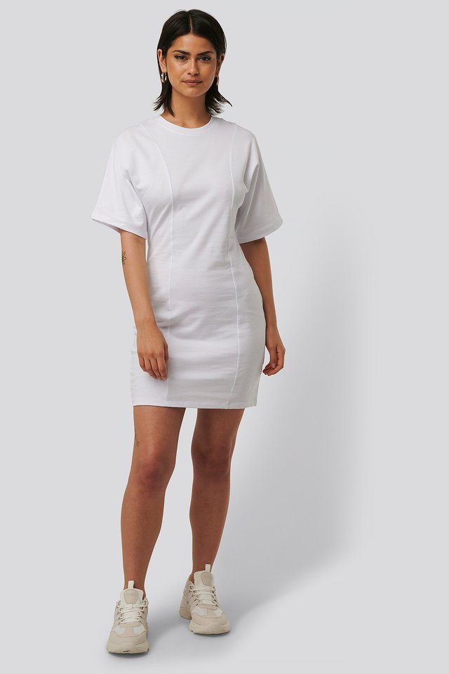 Fitted T-shirt Dress Outfit