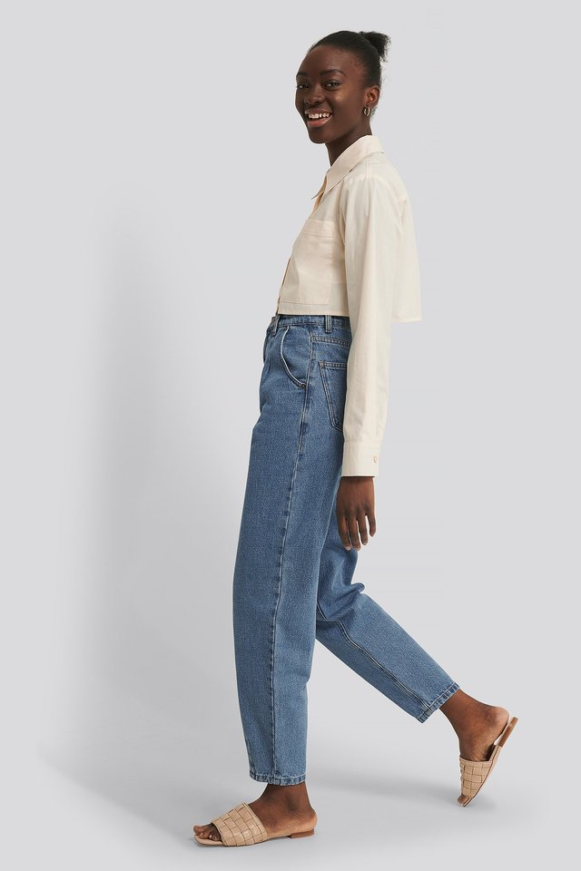 Cropped Shirt Outfit