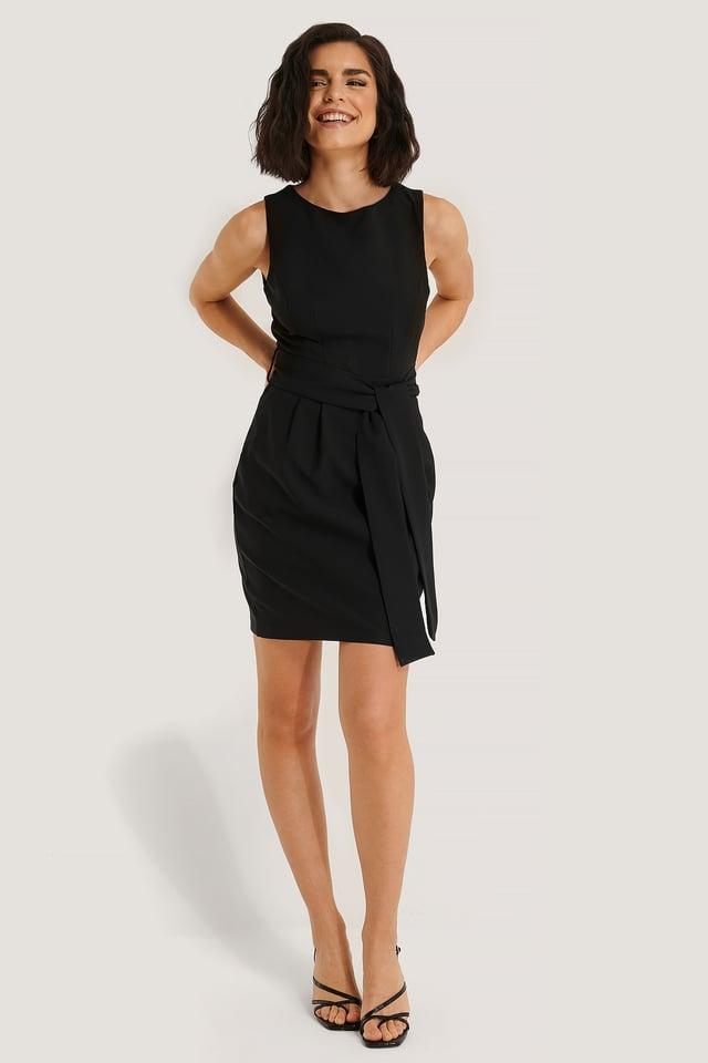 Milla Belted Mini Dress
