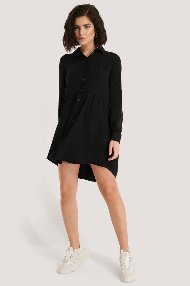 Yol Shirt Dress Outfit