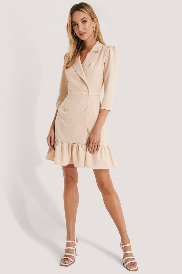 Jacket Mini Dress