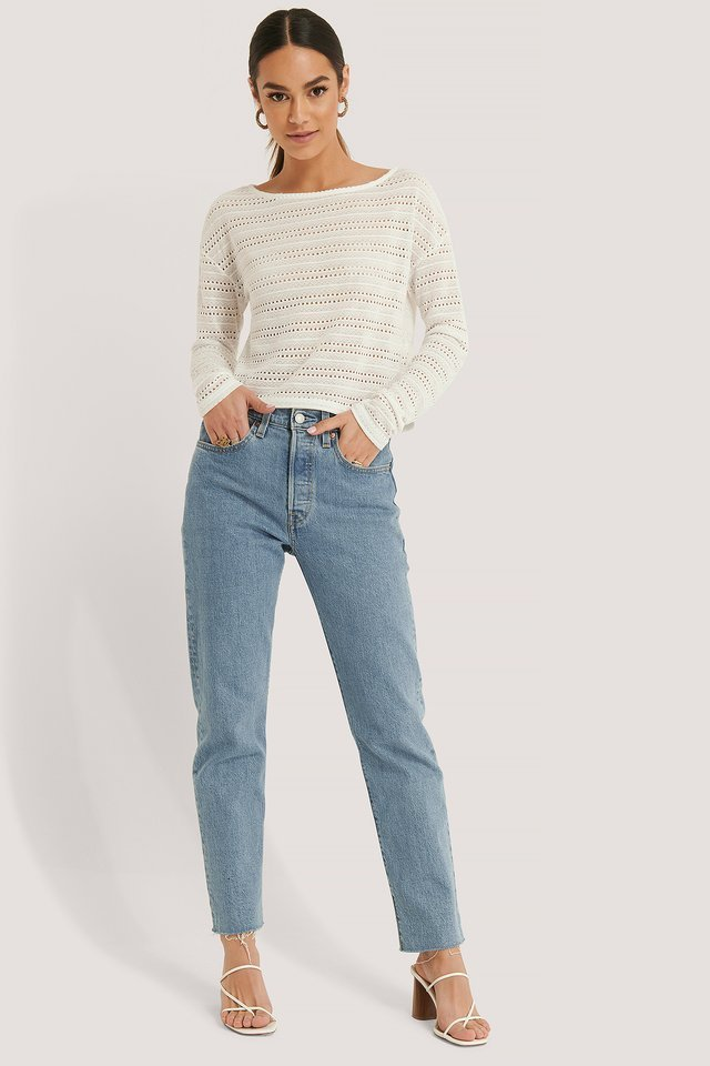 Long Sleeve Detailed Top Outfit