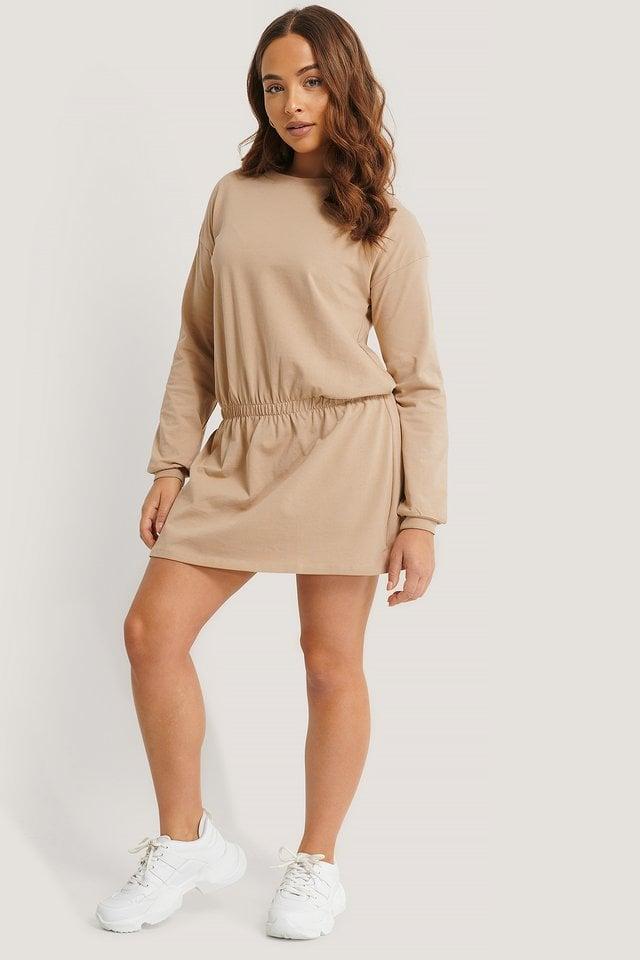 Jersey Skirt Dress