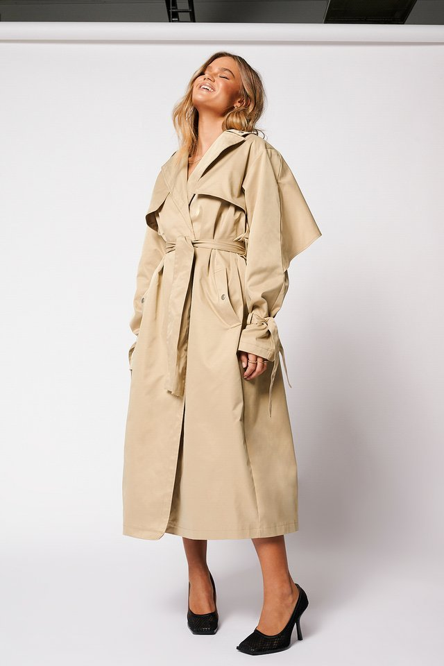 Detail Trenchcoat