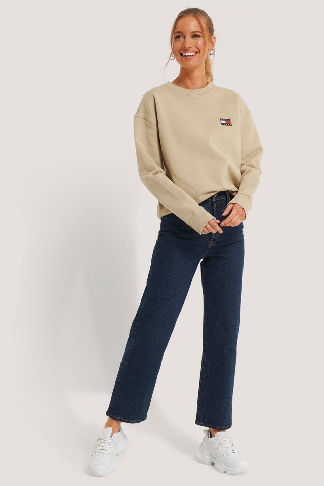 Tommy Badge Crew Sweater