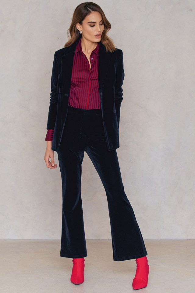 Loose Fit Suit Outfit