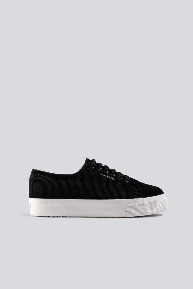 Corduroyw 2730 Black/White