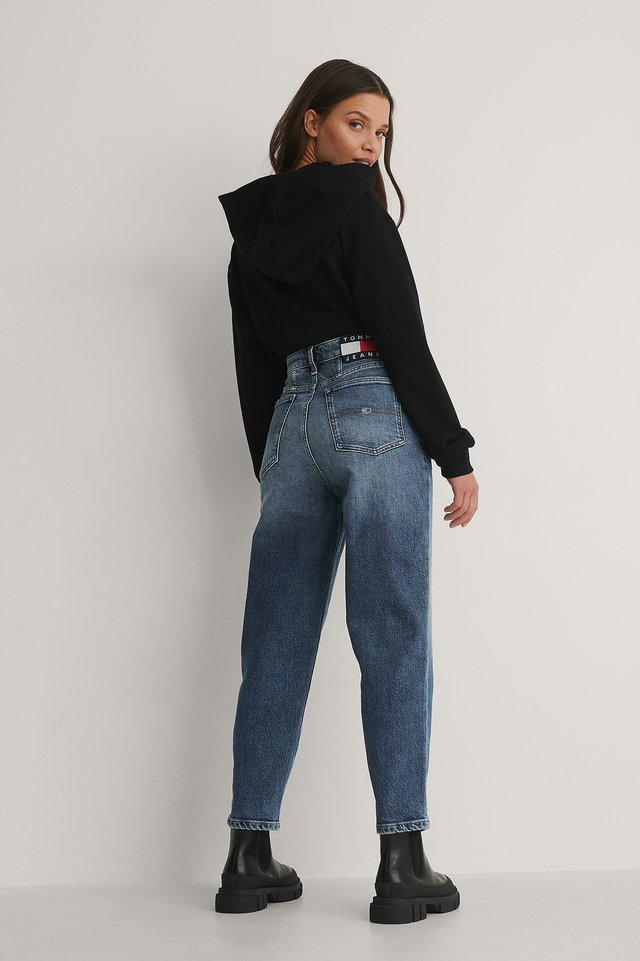 Denim Mom Jeans High Rise