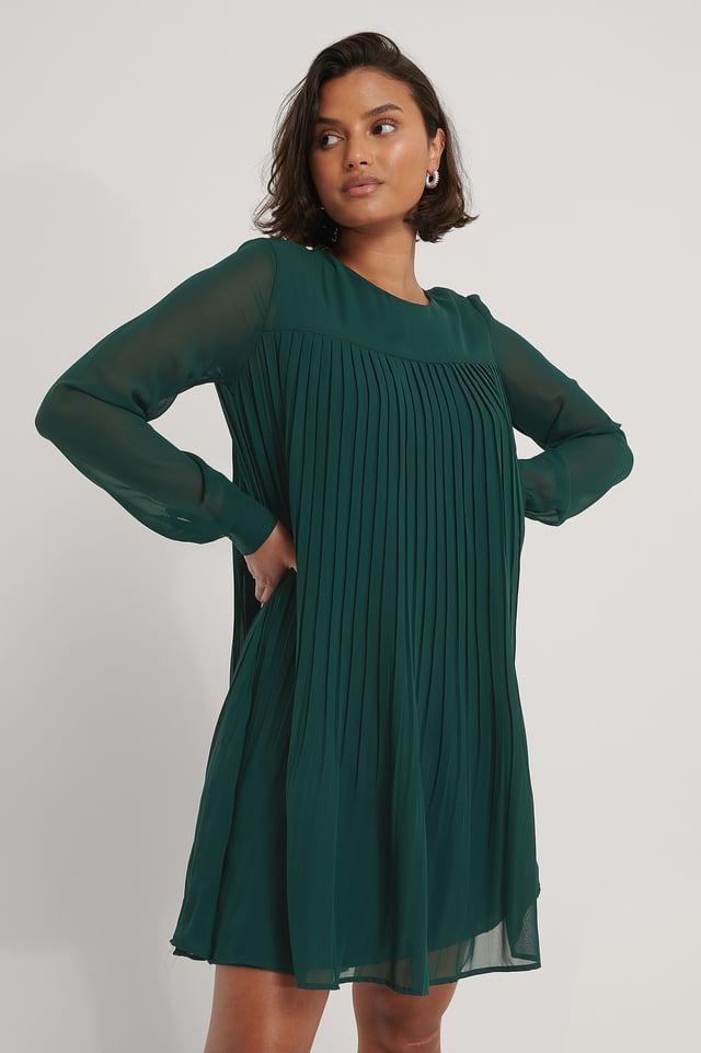 Carmen-Minimekko Green