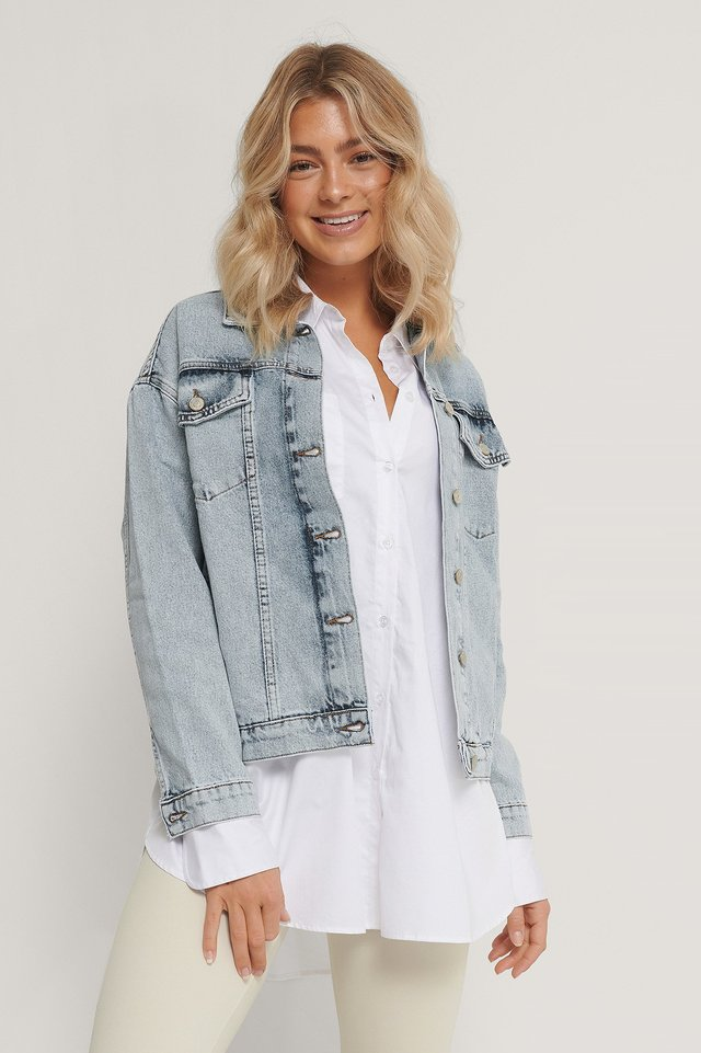 Carmen Denim Jacket Blue