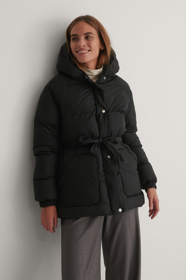 Carmen Down Jacket Black