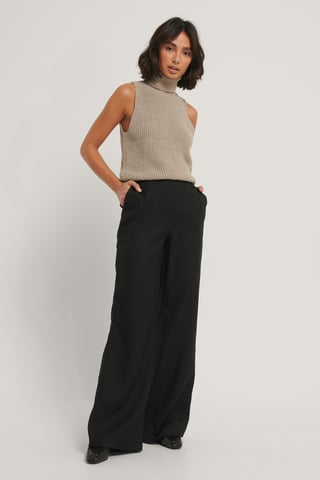 Black Carmen Trousers