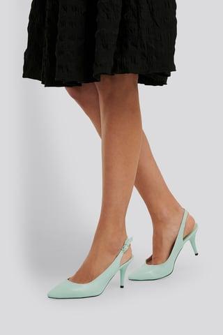 Mint Classic Heels Buckle Sandal