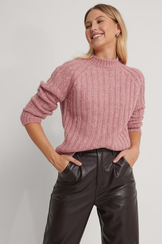 Pullover Dusty Rose