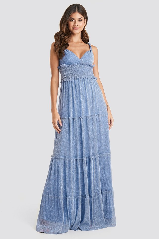 Guipure Evening Dress Lila