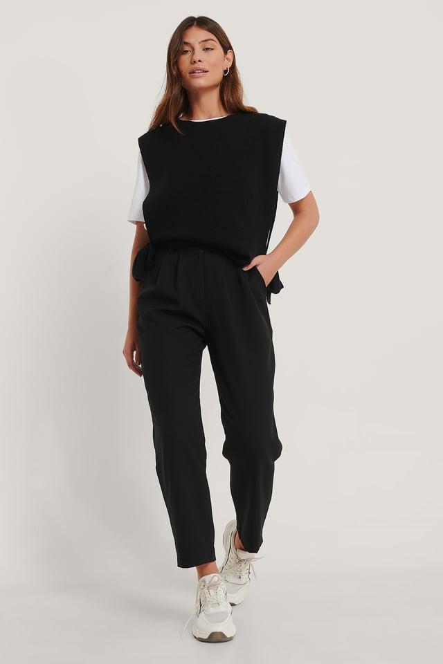 Milla Basic Pants Black