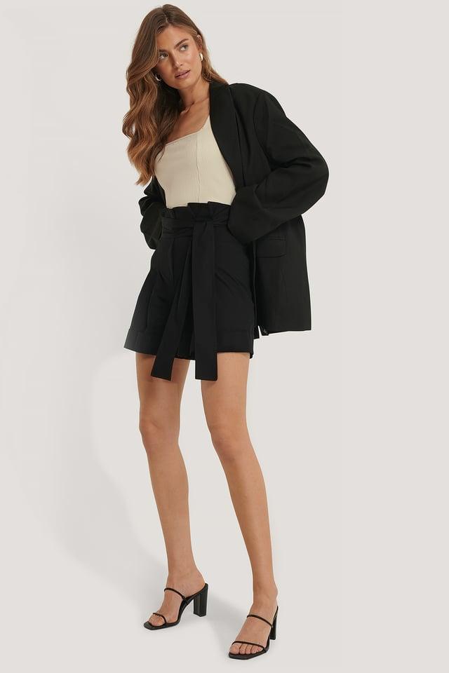 Milla Bermuda Shorts Black