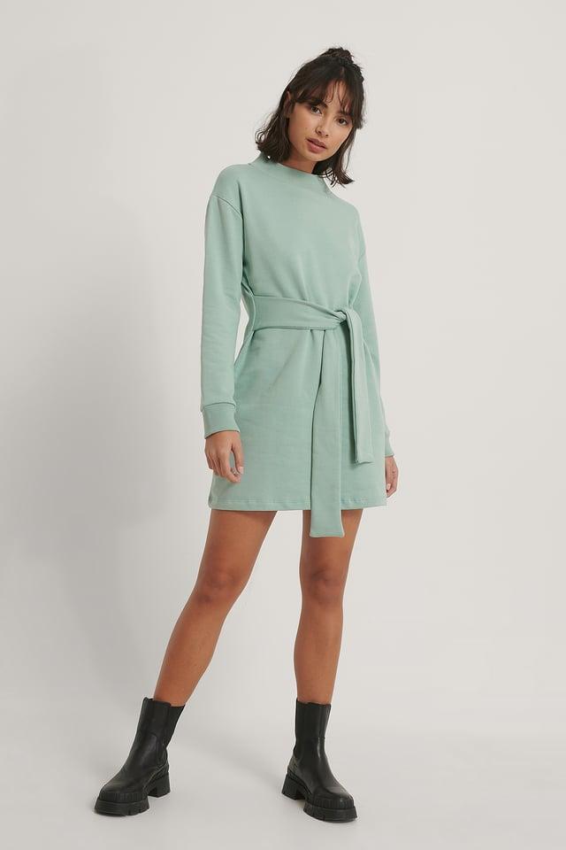 Mint Milla Sweater Dress