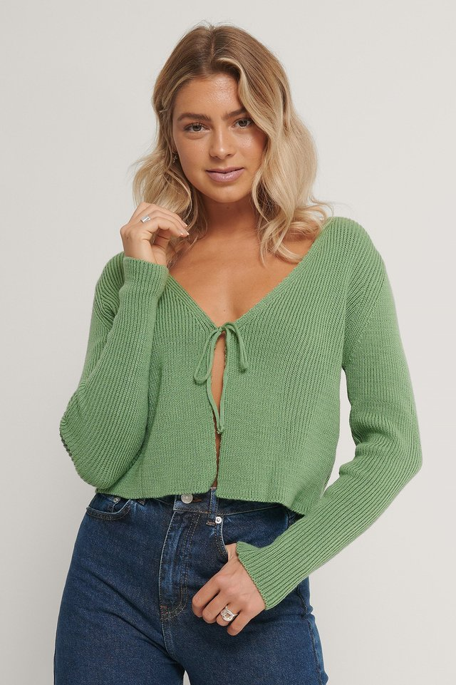 Mint Mint Knitted Cardigan