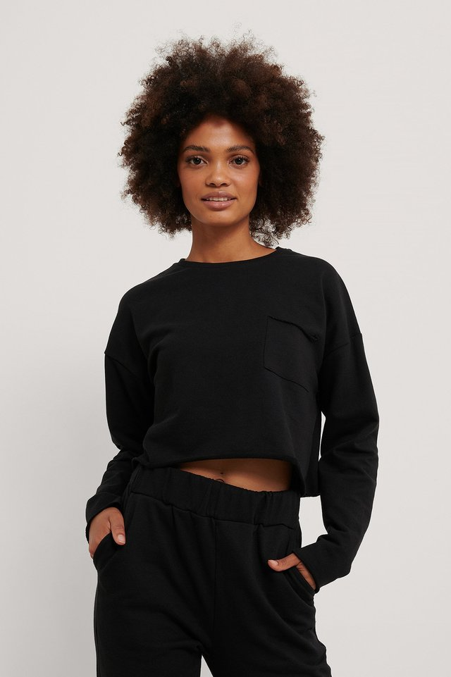 Organic Sweater Black
