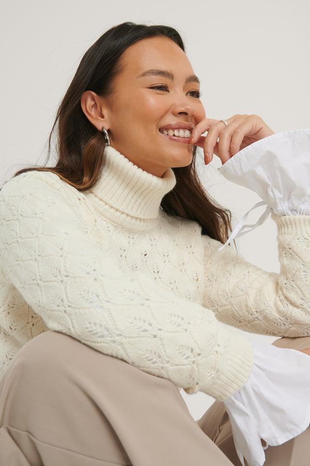 Polo Sweater Ecru