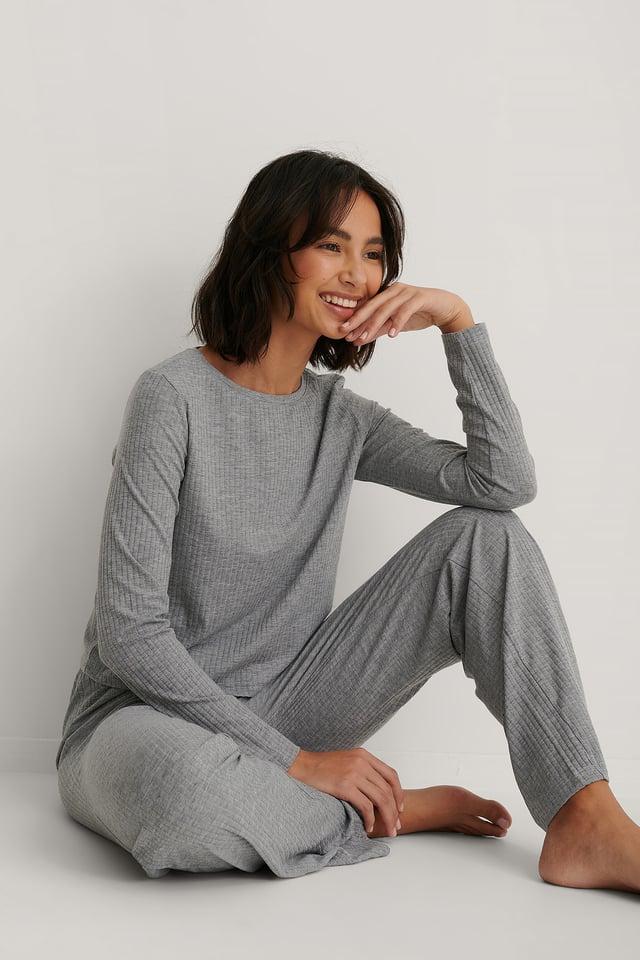Pyjamas Set Gray