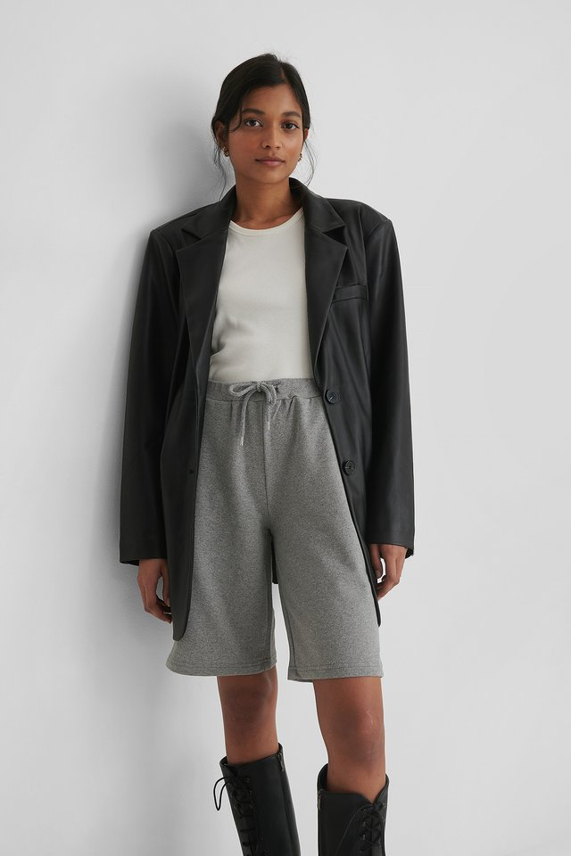 Soft Shorts Grey