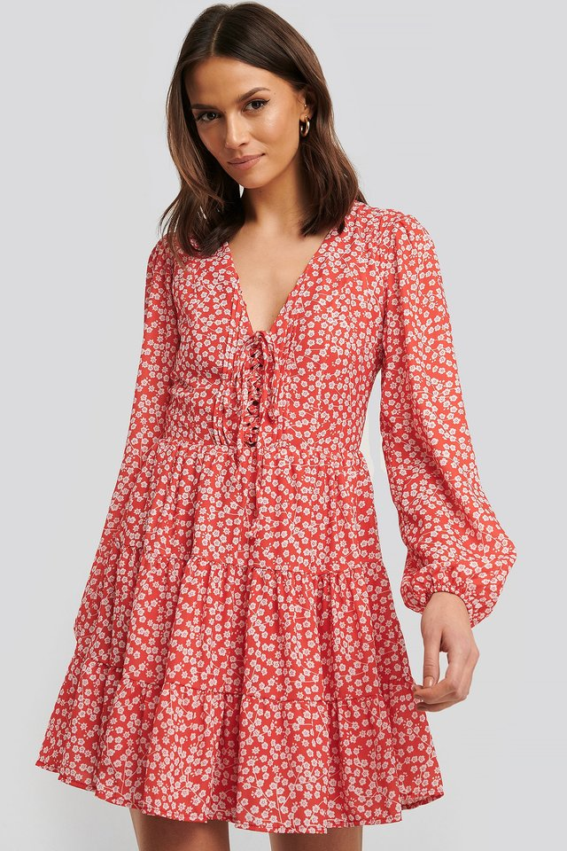 Minikleid Red