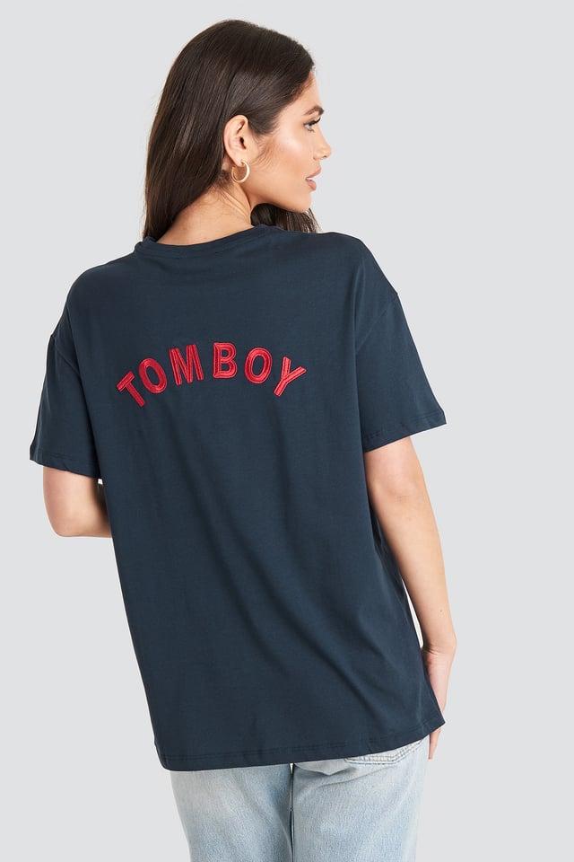 Tomboy Tee Navy