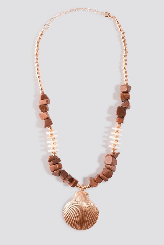 Brown Tulum Necklace